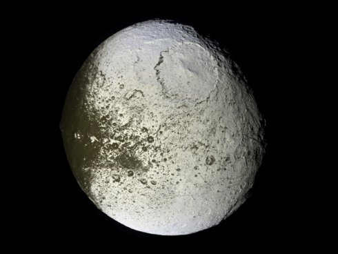Iapetus - a moon of Saturn