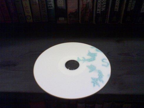Slumber Party Christmas single album (CD art) 2004