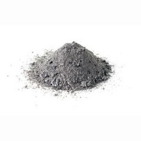 A pile of ashes.