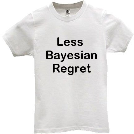 less bayesian regret