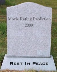 R.I.P. Movie Rating Prediction